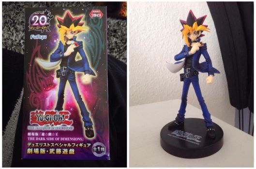My first Yugi statue/figure by xXxPharaohxXx
