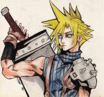 Cloud Strife (Dissidia)- collab w/ Eruraina by OrangeStrawberry-15