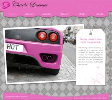 Website Mock-Up - Chick Cars by Cutie-Fasnootie