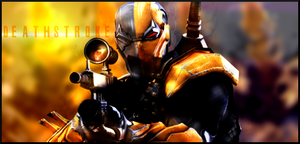 Deathstroke SIGN by Silas-Tsunayoshi