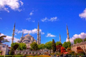 The Blue Mosque by DJVue