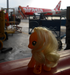 Applejack at KKIA _ 20150630 by K4nK4n