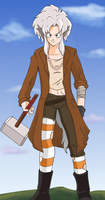 Saku Ookami: hero for hire by Weasley-Detectives