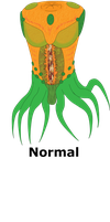 Snyphurr-inspired alien by CyberneticCupcake
