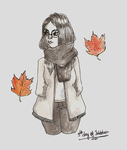 Fallen leaves by AndyMuffinm