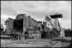 Old locomotive by easwee