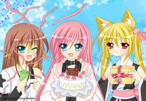[CE] PP Birthday Contest by Kitsune-Musume