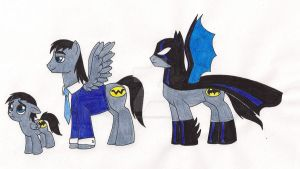 My Little Batstallion by 13foxywolf666