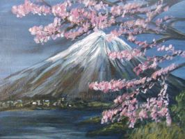 Japanese Landscape by Nickidee