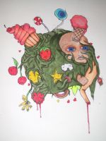 Discusting Kawaii Ball by DarkerInfant
