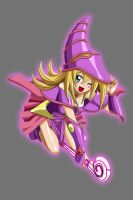 Star Sapphire Dark Magician Girl by Lord-Lycan