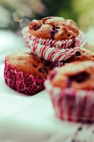 Cherry Muffins by DarkPati