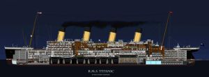 The RMS Titanic by Jimmy-C-Lombardo
