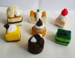 Felt Cakes Assortment by lingggg