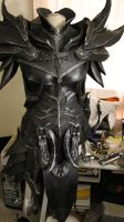 Skyrim Daedric Armor WIP by lsomething