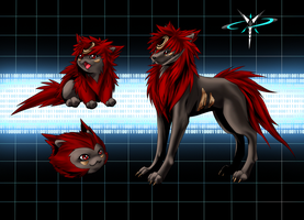 Yoinumon Final Designs I by shadowvixen