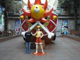 Thousand Sunny Front View by lu40953