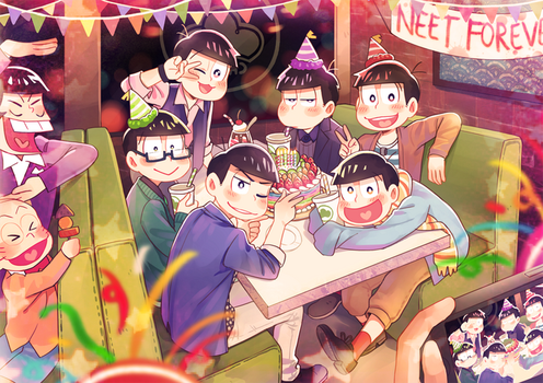 Osomatsu-san 5/24 by Meoon