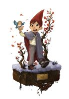 Over the garden wall 1 by Eolkh