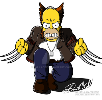 Wolverine by DalilaGFX