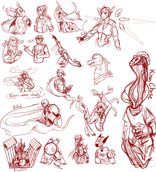 TTOCT Sketch Requests by Digital-Cacophony