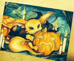 Halloween Gnarrr by Kytru