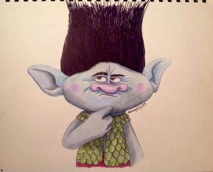 Getting pumped for Trolls!! by harleypig127