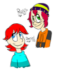 Ross and Daniel by Luckynight48
