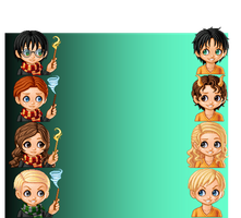 Chibi Harry Potter v.s Percy Jackson by Percy-Annabeth99