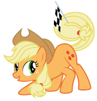Applejack - Set, Ready, Go!! by abydos91