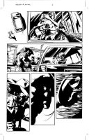 Wolverine Roar: Page 06 Pencil by MikeDeodatoJr