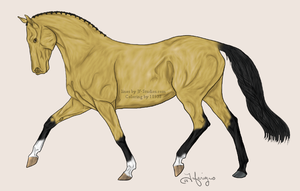 Buckskin by LianeDesigns
