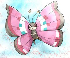 Vivillon by mud-cchi
