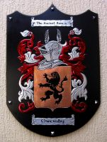 Owensby Coat Of Arms by CacaioTavares
