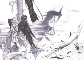 Angelic Assassin by Lucifer-A