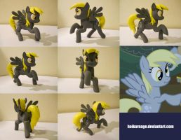 Derpy, multiple angles and auction by EarthenPony