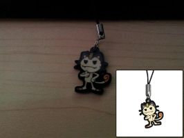 1-inch Charm - Team Rocket Meowth by DivineJayce