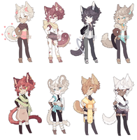 [ADOPTS: Closed] by amouu