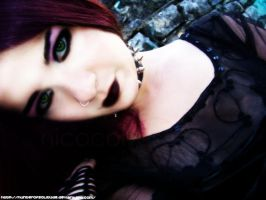 Gothic Beauty by HunterOfSolitude