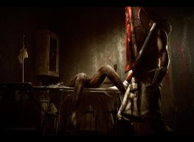 Secret room - Silent Hill 2 by Aoki-Lifestream