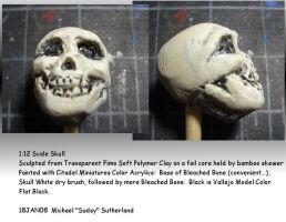 1 12th scale skull practice by SudsySutherland