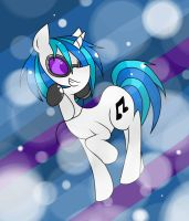 REQUEST - Vinyl Scratchhh by SpottyHiro