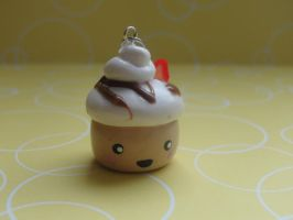 Cute Clay Cupcake by CraftyOlivia