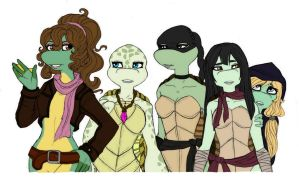 Follow my lead TMNT by Lily-pily