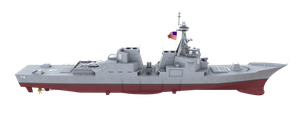 Guided Missile Cruiser Baseline by Lebroba