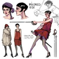 Mildred Vox by artofpan