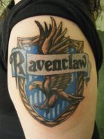 Ravenclaw tattoo by figgum