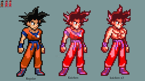 Early Goku sprites JUS by yurestu