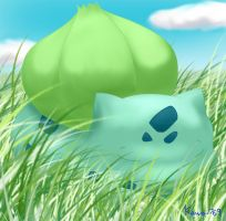 Pokemon - Bulbasaur by kawaii769