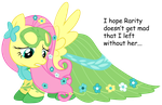 Fluttershy Masquerade by REPLAYMASTEROFTIME